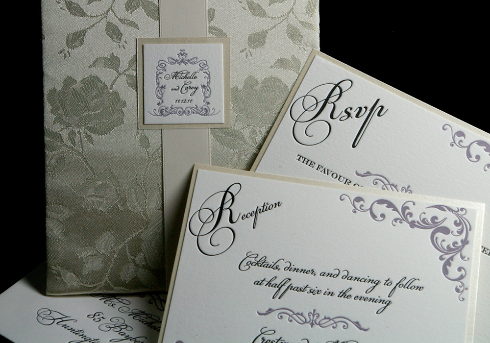Digital Calligraphy For Wedding Invitations Ez Calligraphy